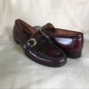 Men's Cole Haan Brown Leather Loafers